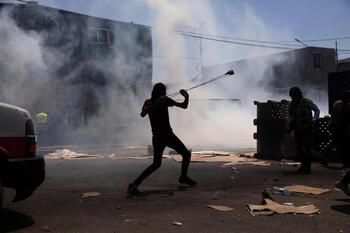 Más de 380 palestinos heridos en Cisjordania