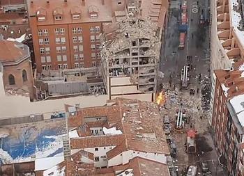 Un vecino de Almoradiel fallece en la explosión de Madrid
