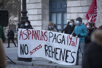 UGT denuncia que 500 empleados de Aspanias no cobraron abril