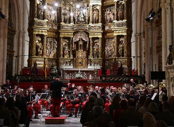 La  Catedral, escenario del concierto del Día del Veterano