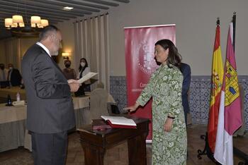Pilar Zamora toma posesión en el Consejo Social de la UCLM