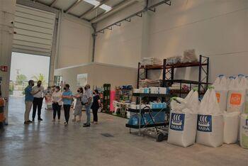 García Élez visita la empresa Agroquímicos Luna