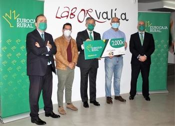 La 'Ayuda Social' de Eurocaja Rural llega a Laborvalía