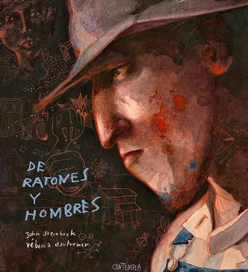 Portada de esta auténtica joya de la novela gráfica auspiciada en España por la editorial Edelvives.