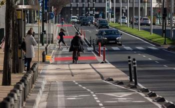 Se triplican las sanciones impuestas a ciclistas en Pamplona