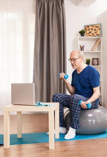 Los fisioterapeutas se apoyan en la telerrehabilitación