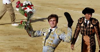 José Fernando Molina y Cristian Pérez, en el Alfarero de Oro