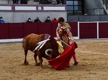 Curro de la Casa cumple seis años como matador de toros
