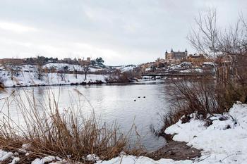 La CHT no prevé grandes crecidas del Tajo por Toledo