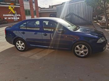 Recuperado en Consuegra un vehículo robado en Madrid