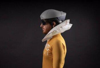 Un casco de bicicleta para prevenir lesiones medulares