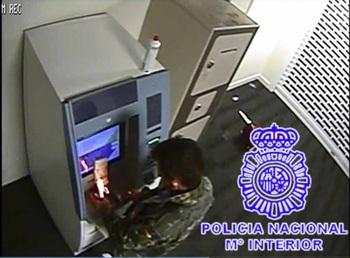 Detenido por prender fuego a un cajero en Las Delicias