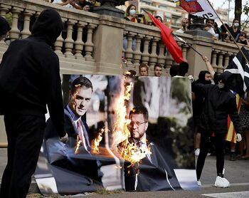Moncloa celebra el éxito de la mesa pese a la brecha secesionista