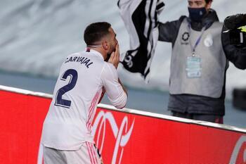 Carvajal renueva con el Real Madrid hasta 2025