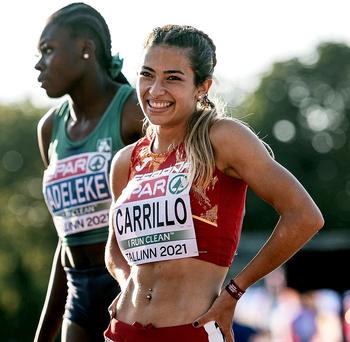 Lucía Carrillo se codea con la élite mundial