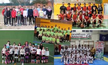 Cerca de 800 niños en las Escuelas Deportivas cabanilleras