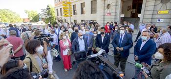 Un centenar de alcaldes reclaman soluciones al ferrocarril