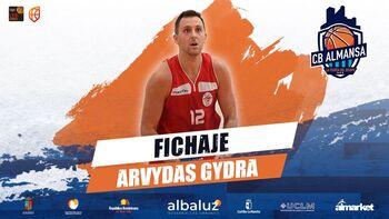 El lituano Arvydas Gydra ficha por el CB Almansa