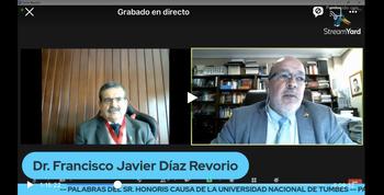 Díaz Revorio recibe su octavo doctorado honoris causa