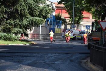 El asfaltado de las calles de Talavera avanza «a buen ritmo»