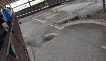 Se retoma la restauración de los mosaicos de Carranque