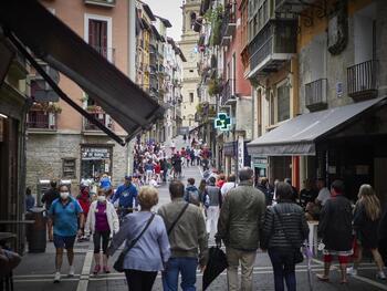 Los contagios en Navarra se mantienen por debajo de 30
