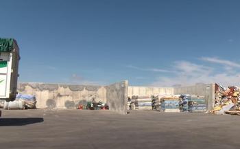 Un yacimiento en el centro de residuos de Los Huertos