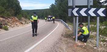 Fallece un vallisoletano en un accidente de moto en Soria