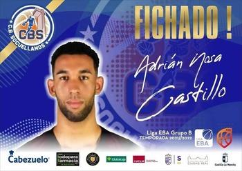 Adrián Nosa, nuevo jugador del CB Socuéllamos