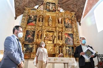 Junta e Iberdrola restauran el retablo de Villarmenteros