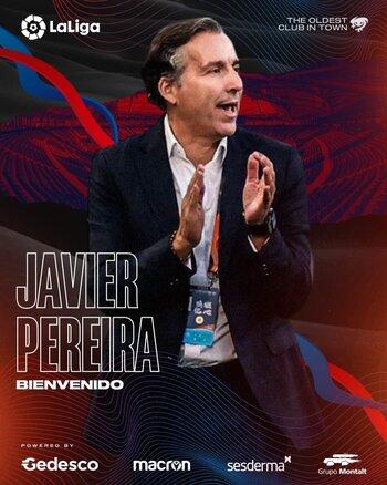 El Levante confía su suerte en Javier Pereira