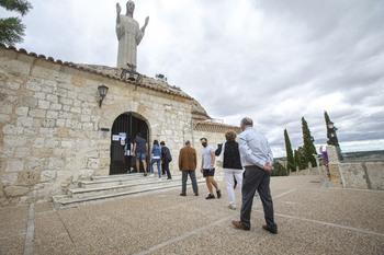 Aumentan las visitas al Cristo del Otero