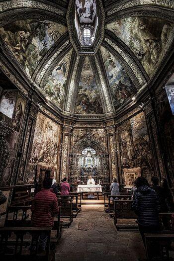 La monitarización de la capilla de San Saturio, en dos meses