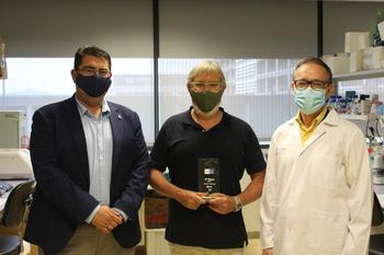 El CIBIR es premiado por un proyecto de tecnología espacial