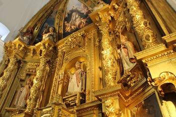 Santa Olalla exhibe la belleza de su iglesia de San Julián