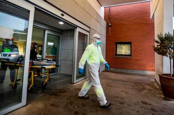 36 fallecidos en un día y 1.487 contagios en CLM