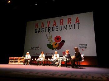 GastroSummit reúne a los mejores chefs en Pamplona