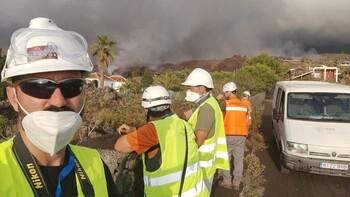 Así investiga la UCLM el volcán de La Palma