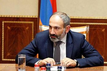 El primer ministro de Armenia denuncia un