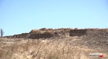 Hallan restos arqueológicos en las obras del TAV en Tafalla
