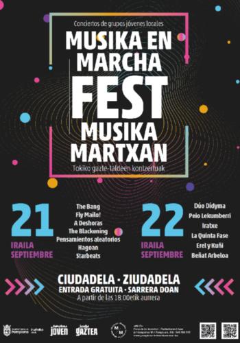 La Ciudadela será de nuevo la sede del Musika en Marcha Fest