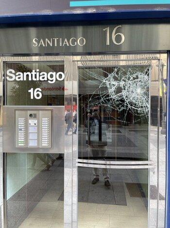 VOX denuncia un nuevo ataque a su sede de Valladolid