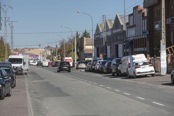 Se abre al tráfico provisionalmente la calle Guadarrama