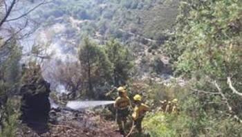 Extinguido el incendio de El Raso y otro 'susto' en la zona