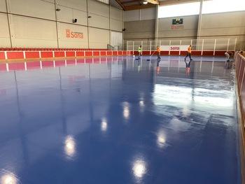 Soria prosigue la mejora de los espacios deportivos