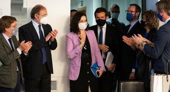El PP se ilusiona con la victoria de Ayuso y mira a La Moncloa