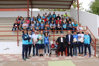 Asterio Muela recibe un homenaje póstumo del Club Altomira