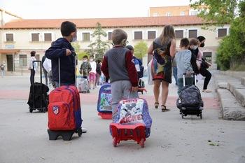 Cinco aulas en cuarentena desde el inicio del curso escolar
