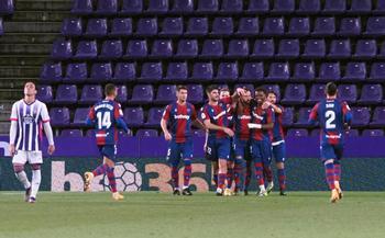 El Levante, primer equipo de cuartos tras asaltar Pucela