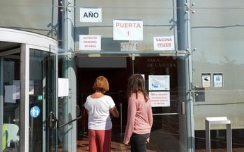 El centro de vacunación del Delibes echa el cierre el día 30